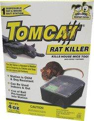 Motomco Ltd             D - Tomcat Rat Killer Disposable Bait Station