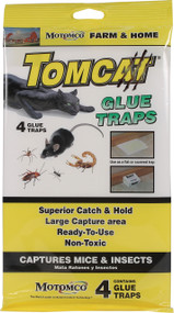 Motomco Ltd             D - Tomcat Glue Traps For Mice And Insects
