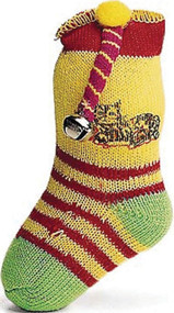 Ethical Cat - Neon Sock With Bell & Catnip