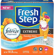 Clorox Petcare Products - Fresh Step Extreme Litter With Febreze (Case of 3 )
