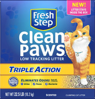 Clorox Petcare Products-Fresh Step Clean Paws Triple Action