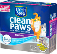 Clorox Petcare Products - Fresh Step Clean Paws Multi Cat Litter