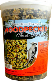 Pine Tree Farms Inc - Woodpecker Classic Seed Log