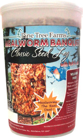 Pine Tree Farms Inc - Mealworm Banquet Classic Log