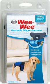 Four Paws Products Ltd - Wee Wee Washable Diaper Garment