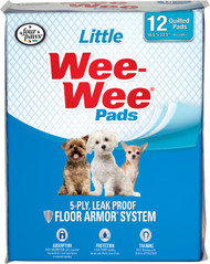 Four Paws - Container - Wee Wee Pads For Little Dogs