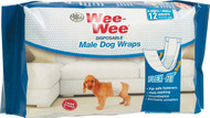 Four Paws Products Ltd - Wee-wee Disposable Male Wraps