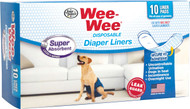 Four Paws Products Ltd - Wee-wee Disposable Diaper Liners