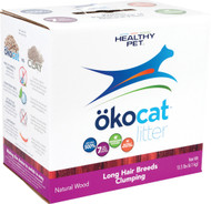 Healthy Pet - Litter - Okocat Natural Wood Cat Litter Long Hair Breeds