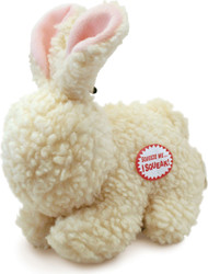 Ethical Dog - Fleece Rabbit Dog Toy