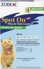 Farnam Pet - Zodiac Spot On Plus For Cats