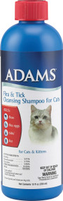 Farnam Pet - Adams Flea & Tick Cleansing Shampoo For Cats