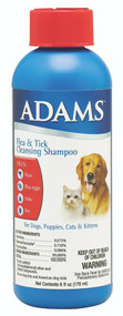 Farnam Pet - Adams Flea & Tick Cleansing Shampoo