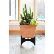 Achla Designs Solaria Collection 16 inch Zaha Planter with Stand