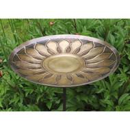 Achla Designs Solid Brass African Daisy Birdbath Bowl BB-09