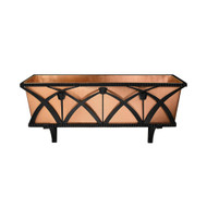 Achla Designs Rookwood Window Box with Brackets and Holder B-51