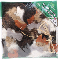 Songbird Essentials - Wild Bird Nesting Material Wreath