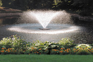 Scott Aerator DA - 20 Display Pond Aerator Fountain 1 HP 230V With 150 ft. Power Cord 14025
