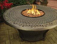 Oakland Living Charleston Aluminum Propane Fire Pit Table OAA2385