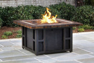 Oakland Living Goldie's Steel Propane Fire Pit Table OAA3024