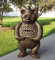 Oakland Living Smokee Bear Aluminum Wood Burning Chiminea OAA2911