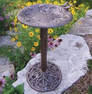Oakland Living Antique Bronze Hummingbird Birdbath OAA1240