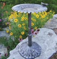 Oakland Living Butterfly Sunflower Birdbath OAA1338