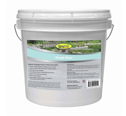 EasyPro Pond-Vive Bacteria Water Soluble Packs 10 lb. Pail 20 ct.