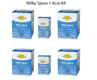 Milky Spore Japanese Beetle And Grub Control Powder 1 Acre Kit 80040-6