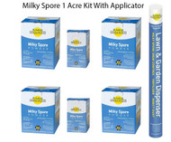 Milky Spore Japanese Beetle And Grub Control Powder 1 Acre Kit With Applicator