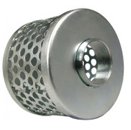 Green Leaf ROUND HOLE STEEL STRAINER 3 Inch GLFSR300SP