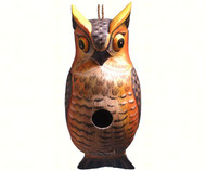 Songbird Essentials Great Horned Owl Birdhouse SE3880301