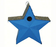Songbird Essentials Blue Country Star Birdhouse SE917