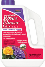Bonide Products Inc     P - Systemic Rose & Flower Care 8-12-4