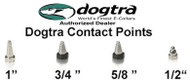 "Dogtra Replacement Contact Points Set - 1"", 3/4"", 1/2"" or 5/8"""