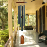 Woodstock Chimes Evergreen Craftsman Wind Chime WOODCRCE