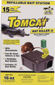 Motomco Ltd             D - Tomcat Rat Killer Ii Refillable Bait Station