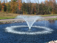 Kasco Marine 4400VFX VFX Series Decorative Pond Fountain with Float, C-25 Control Panel and 50Ft. to 200 Ft. Power Cord Lengths