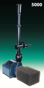 Quiet One Pro Series Pond & Water Garden Pumps Model 5000 with 1458 GPH R440155