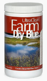 UltraClear Farm Dry Blue- Organic Pond Dye 3 x 4oz Water Soluble Packets