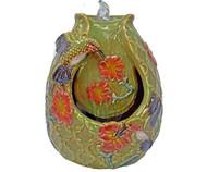 Gift Essentials Hummingbird Tabletop Ceramic Fountain GE801