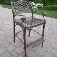 Oakland Living Mississippi Patio Bar Stool OAA1221