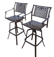 Oakland Living Rose Patio Bar Stool OAA2595