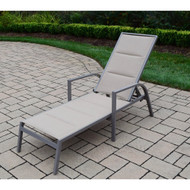Oakland Living Padded Sling Chaise Lounge (Set of 2)