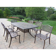 Oakland Living Oxford Mississippi 7 Piece Outdoor Dining Set