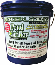 Microbial Science Laboratories Pond Clarifier Tablet 50 Pack 86 (MSL86)  •Improves Water Clarity and Water Quality  •Removes Excess Ammonia, Nitrite, Nitrate and Phosphate  •Biodegrades Sludge, Waste and Sediment  •Quickly Seeds the Biological Filter in the Spring