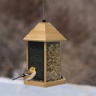 Woodstream Trio Bamboo Squirrel Proof Bird Feeder BAMTRIO