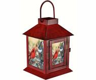 Mark Feldstein Rustic Cardinals Lantern