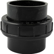 "Aqua UV Replacement 2"" Union, Black A40116"