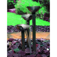 Calais Tay Stainless Steel Garden Fountain SEG0351